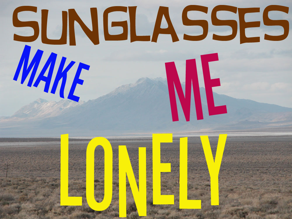 Short Audio Fiction: Sunglasses Make Me Lonely